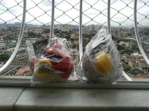 angry birds do mc donalds bonecos avulsos! preço da unidade