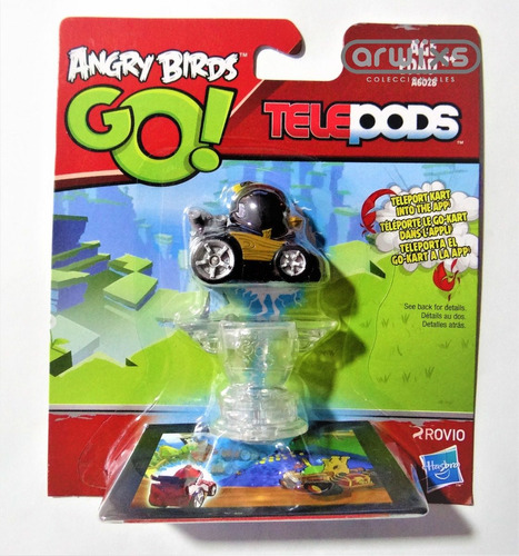 angry birds go! colección completa telepods