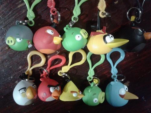 angry birds llavero coleccion completa 10 pzs ¡evio gratis!!