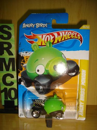 angry birds minion  2012 hot wheels