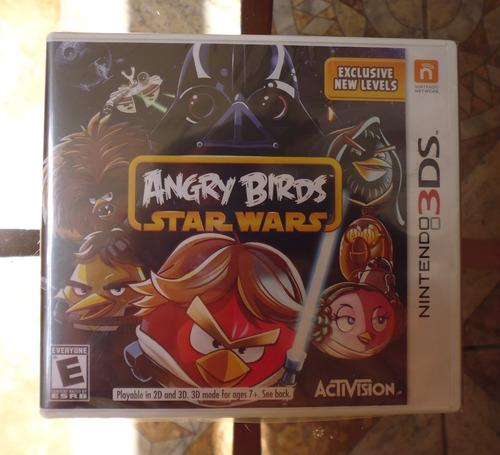 angry birds star wars - nintendo 3ds sellado nuevo