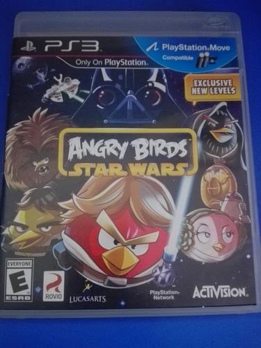 angry birds star wars - playstation 3 ps3 disco semi nuevo