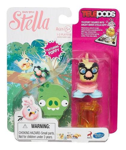 angry birds telepods stella e seus amigos - vários modelos