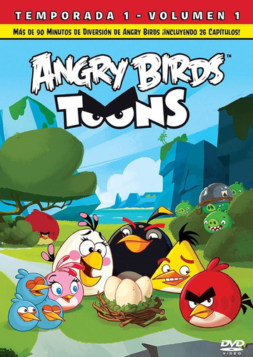 angry birds toons temporada 1 uno volumen 1 serie dvd