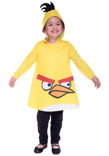 angry birds traje amarillo - 3t/4t
