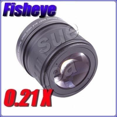 angular fisheye olho de peixe 0.21x 58mm 55mm 52mm 49mm 46mm