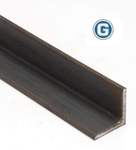 ángulo de hierro 1 x 1/8 gramabi barra de 6 mt. perfil l de 25,40 x 3,20 mm. marco reja herrería bastidor lpn 90°