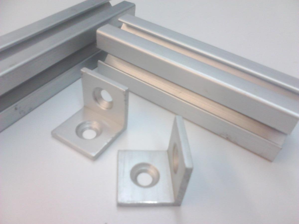 Ngulo de refuerzo para perfil de aluminio espesor 1 8 for Perfiles de aluminio para toldos de palilleria