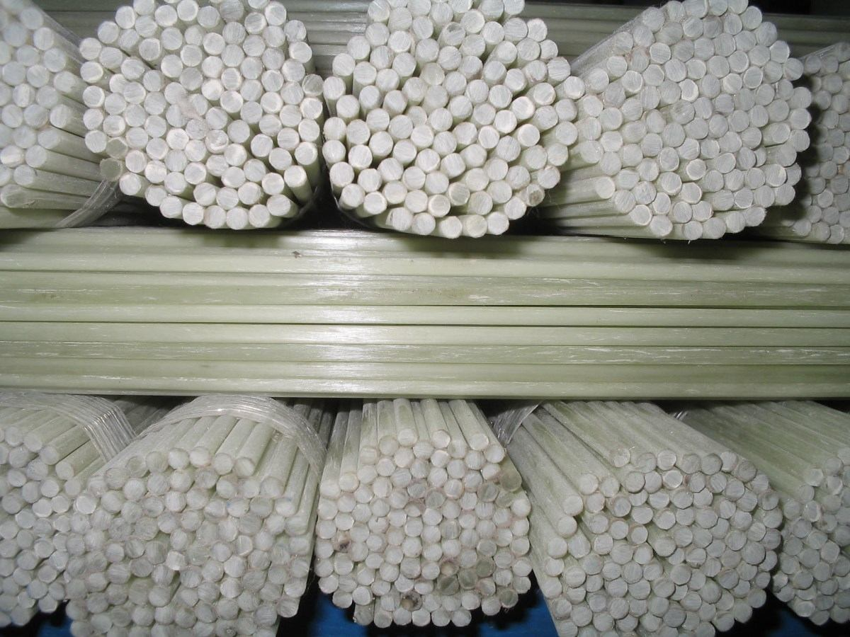 Angulo pultruido epoxi fibra de vidrio pultrusion perfiles - Varillas fibra de vidrio ...