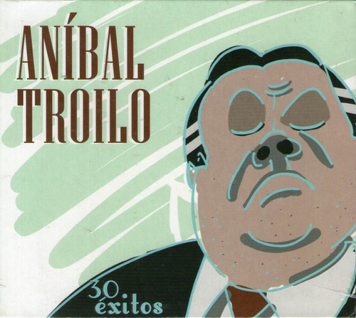 aníbal troilo - 30 éxitos ( cd doble sellado)