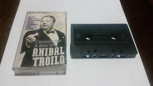 anibal troilo el bandoneon mayor de buenos aires cassette