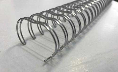 anillado alambre doble 22 mm (7/8  x 50 unid) ring wire