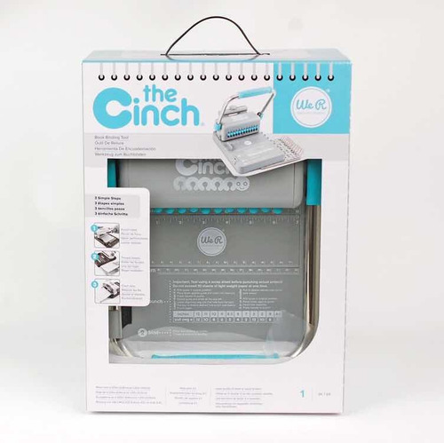 anilladora cinch we r memory perfora redondo modelo cinch