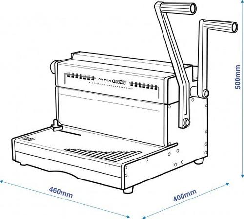 anilladora de alambre doble dupla dasa 2:1 oficio /oferta/