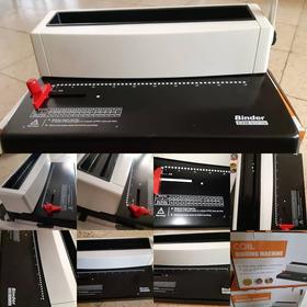 Anilladora Metalica Perforadora A4 Espiraladora Mac Pro A5a6