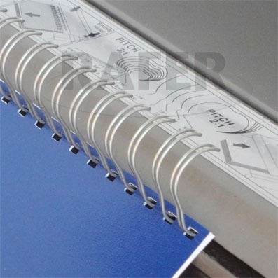 anilladora rafer wiremac 21 para alambre doble-0