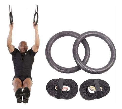 anillas crossfit suspensión gimnasia deportiva funcional