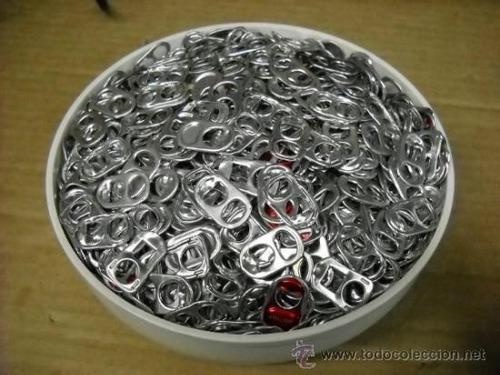 anillas latas de refresco 100 piezas