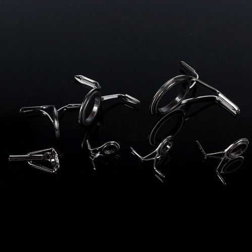 anillas para caña de pescar pack x7 con puntera pesca