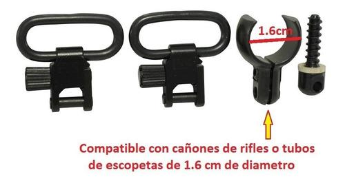 anilletas slings para portafusil rifle escopeta arma caceria