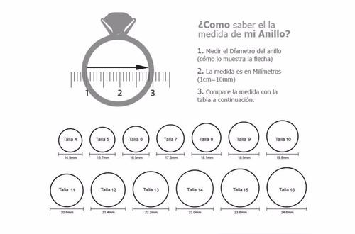 anillo 15 años plata ley 925 2.9 gr, dlujocolombia