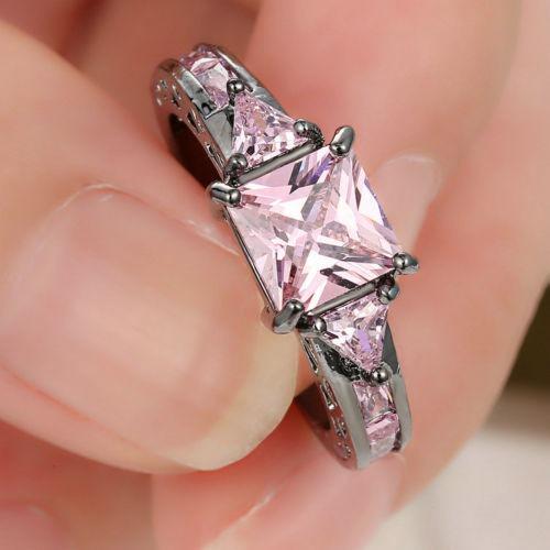 anillo acero perla