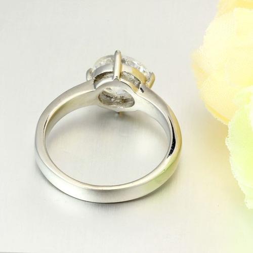 anillo acero zirconias