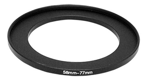 anillo adaptador 58-77mm aumenta diametro