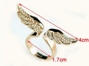 anillo alas impactantes amor feng shui atrae suerte corona