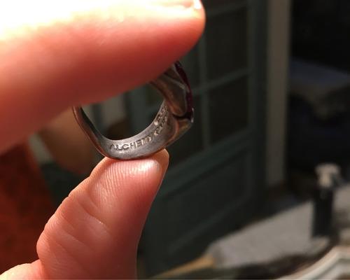 anillo alchemy gothic. importado! traído de inglaterra