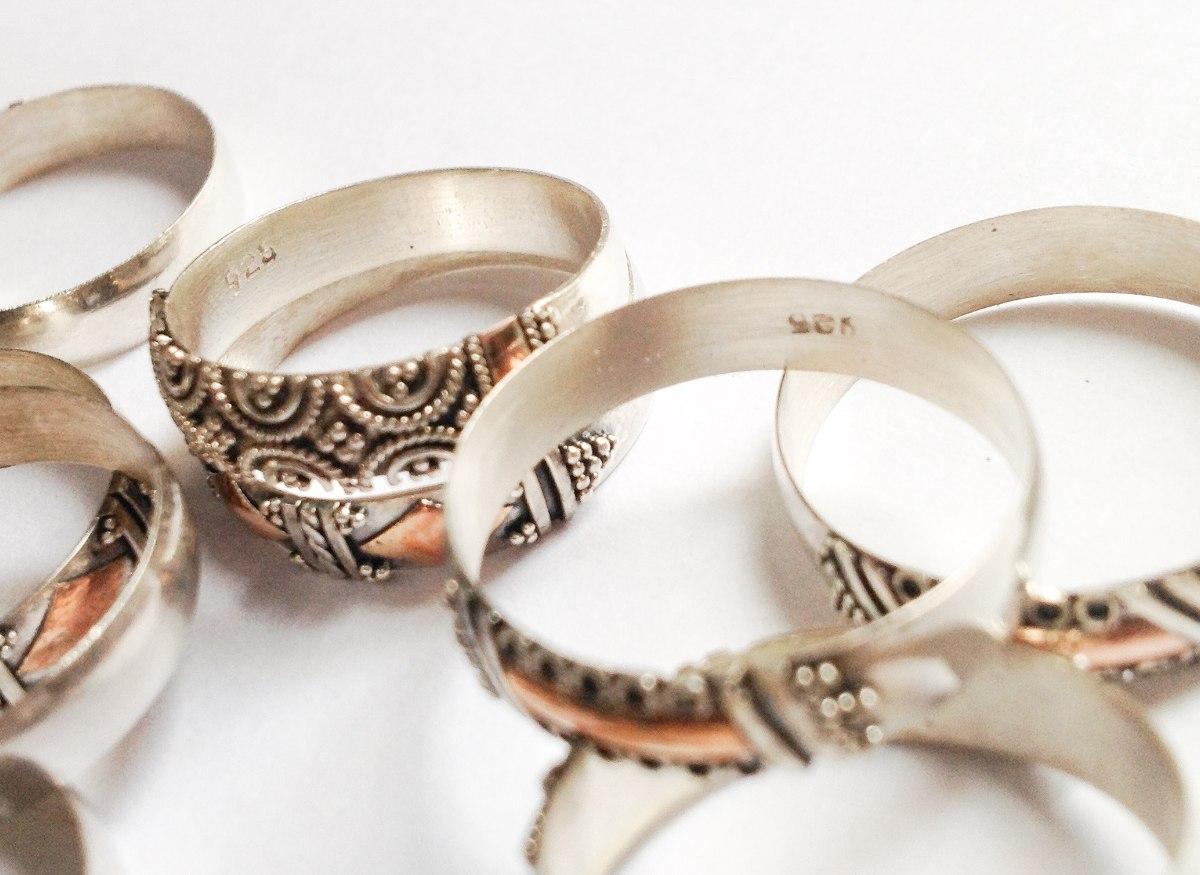 214332060182 anillo alianza portuguesa plata 925 c aplique oro 24. Cargando zoom.