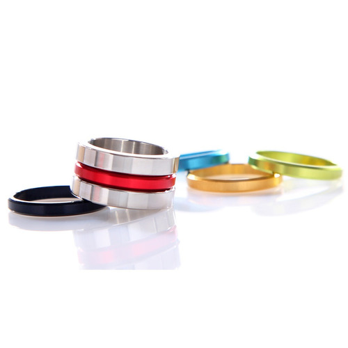 anillo aluminio 7 piezas talle 8 americano - belgrano