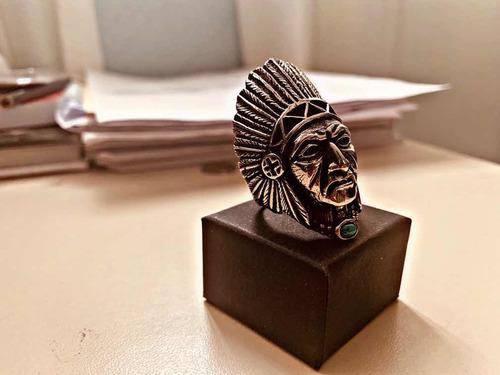 anillo apache acero inoxidable