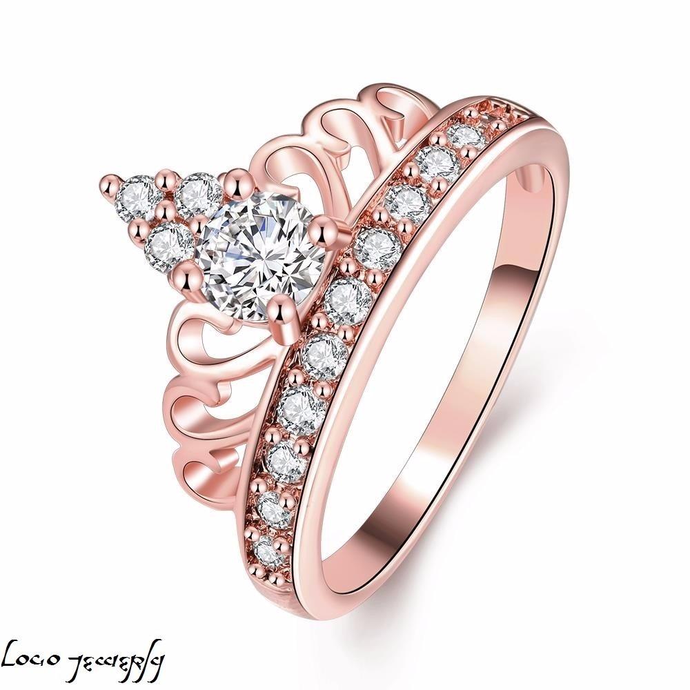38b94917481d Anillo Pandora Corona Oro Rosa