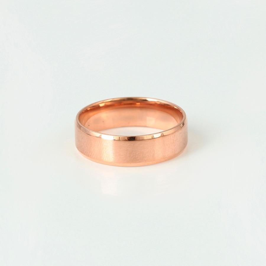 1dfeb4d73ef9 anillo argolla oro rosa 14k laminado matrimonio+envio gratis. Cargando zoom.