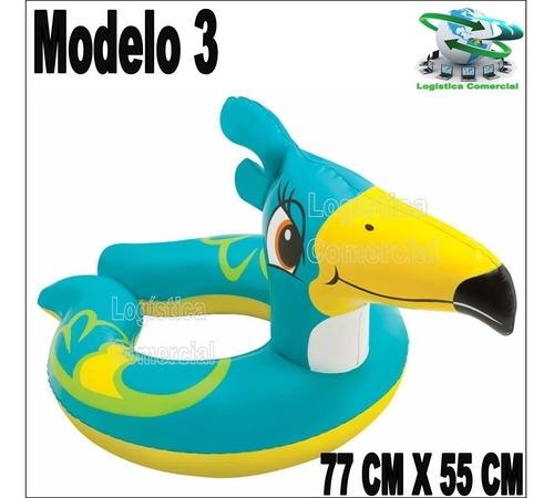 anillo aro abierto inflable flotador intex animales 59220