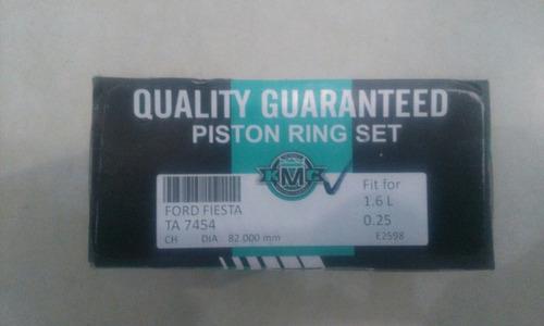 anillo aro de piston fiesta 1.6 010 0.25 ta7454 025 ga