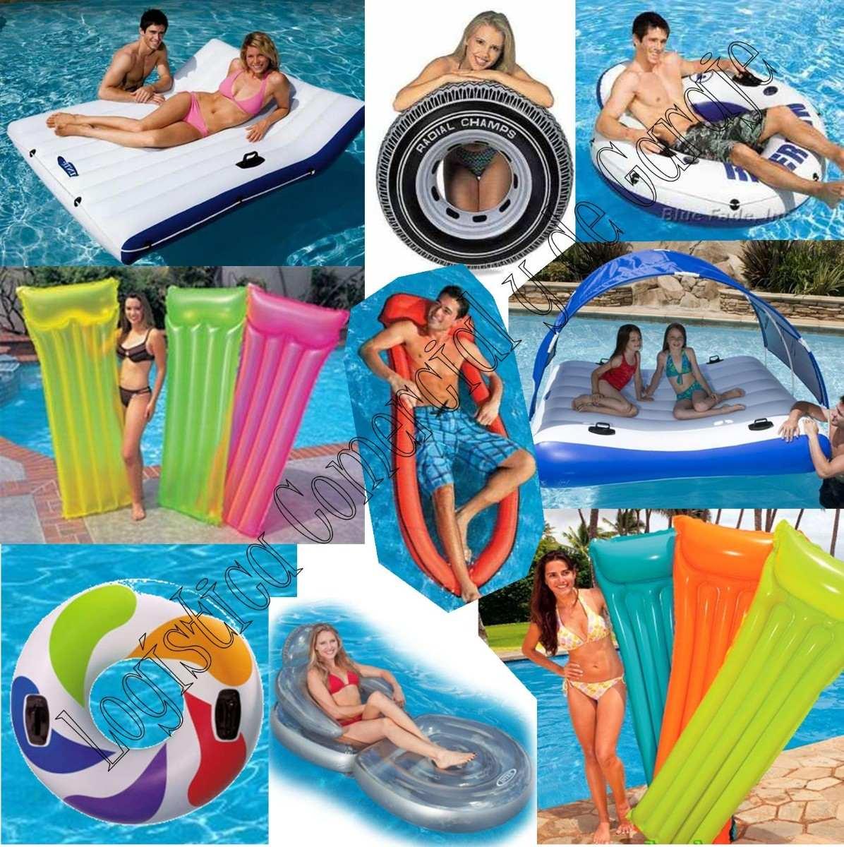 Anillo aro flotador inflable para ni os piscina 58231 for Piscina inflable intex