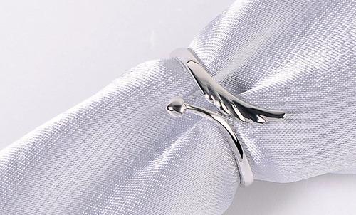anillo baño plata 925 diseno importado de usa