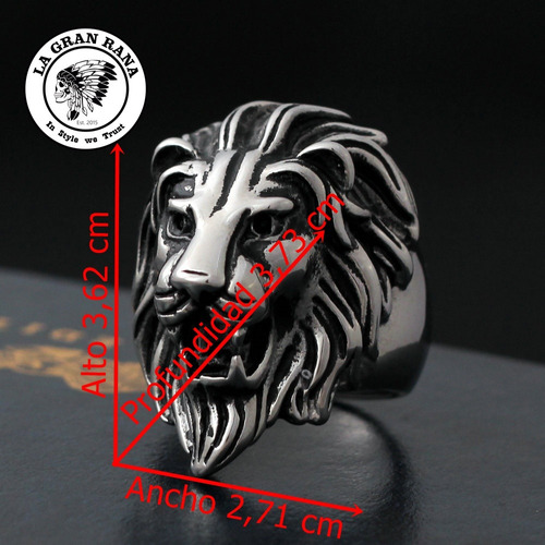 anillo cabeza de leon - lannister game of thrones rastafari