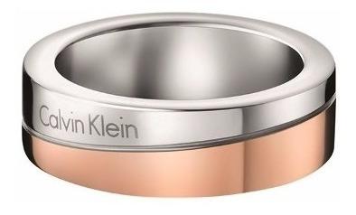 anillo calvin klein kj06pr200108 rosa   envio gratis