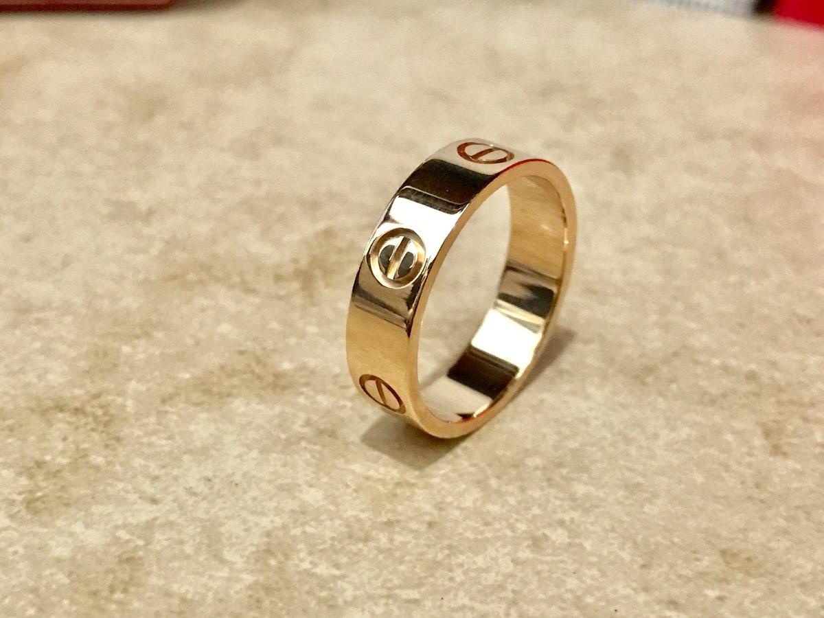 9b9a83dea50 Anillo Cartier Love Oro Amarillo 18k Talla 59 O Talla 8 Tif ...