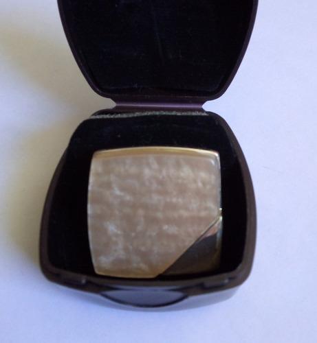 anillo celine plateado con nácar - finart l bel - talla 6