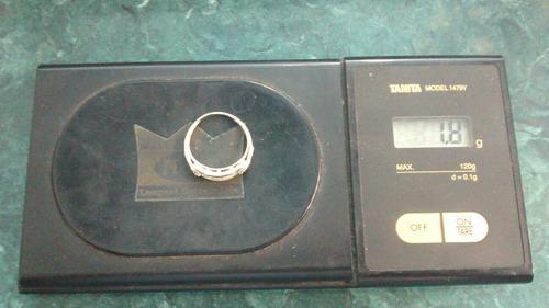 anillo churumbela oro sólido 10 kilates