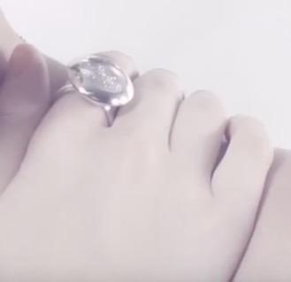 anillo cielo estrellado plata .925 mauricio serrano jewelry