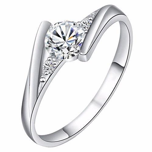 anillo cocktail mujer boda promesa compromiso aleacion chapa