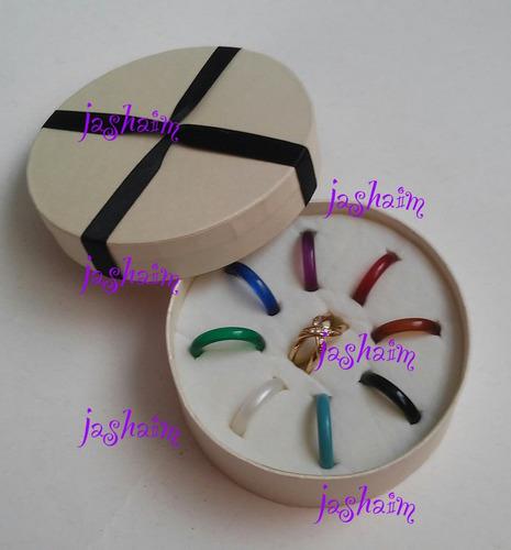 anillo colores intercambiables num.8