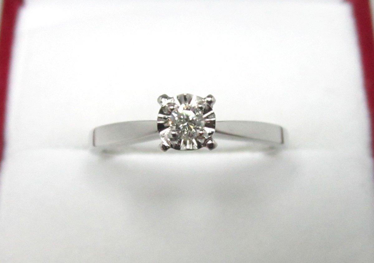 b14702f758f0 anillo compromiso 14k diamante natural .10 puntos g vvs1. Cargando zoom.