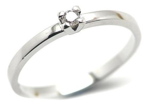 anillo compromiso con diamante