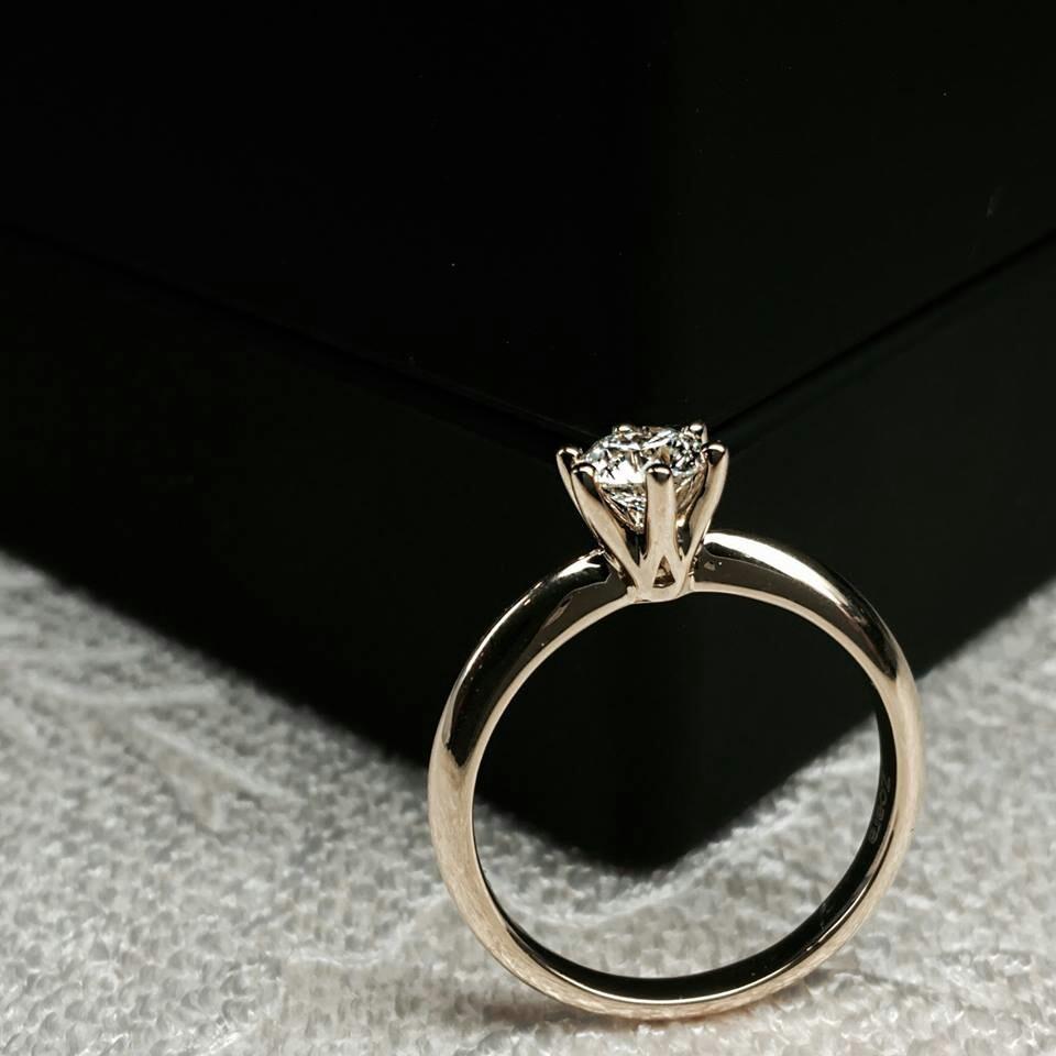 Anillo diamante 20 puntos precio